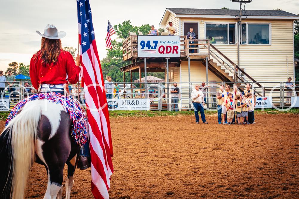Flag Cowgirl 2